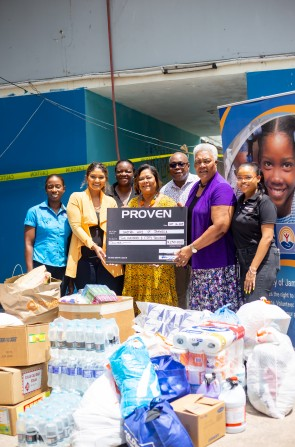 PROVEN Staff gives more for the Children